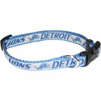Detroit Lions NFL Dog Collar - Medium