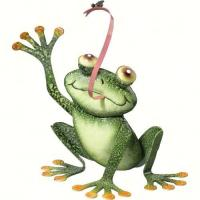 Regal Art & Gift Frog with Fly