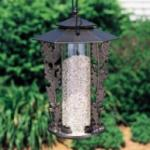 "12"" Oakleaf Silhouette Feeder - French Bronze"