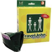Travel John Disposable Urinals, Resealable