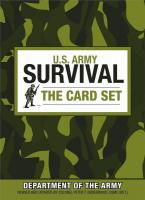 ProForce U.S. Army Survival: The Card Set