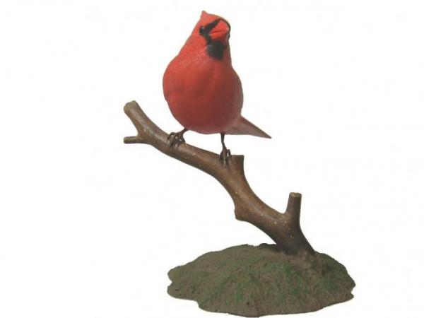 Bird's Choice Northern Cardinal Carving Male