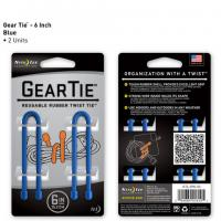 "Nite-ize Gear Tie 6"" 2 Pack - Blue"