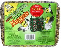 C & S Products Fruit & Nut Snak with Suet Nuggets 2.25 lbs +Frt