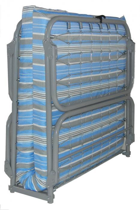 Blantex Heavy-Duty Steel Folding Cot (375 pound capacity)- xk-5xl