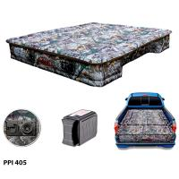 AirBedz CAMO by Pittman Outdoors (PPI 405) Mid Size 5.0'-5.5' Short Bed with Built-in Rechargeable Battery Air Pump