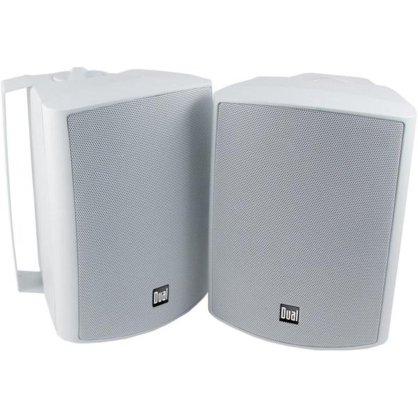 "Dual LU53PW 3-Way Indoor/Outdoor Speakers (5.25"")"