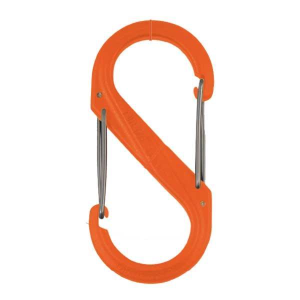 Nite-ize S-Biner Plastic Size #2 -Orange, Single