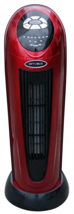 OPTIMUS H7328 22inch Oscillating Tower Heater, Digital Temperature