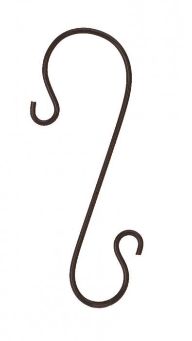 Panacea 12 inch Branch Hook Black