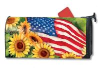 Magnet Works American Sunflowers MailWrap