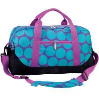 Olive Kids Big Dot Aqua Duffel Bag