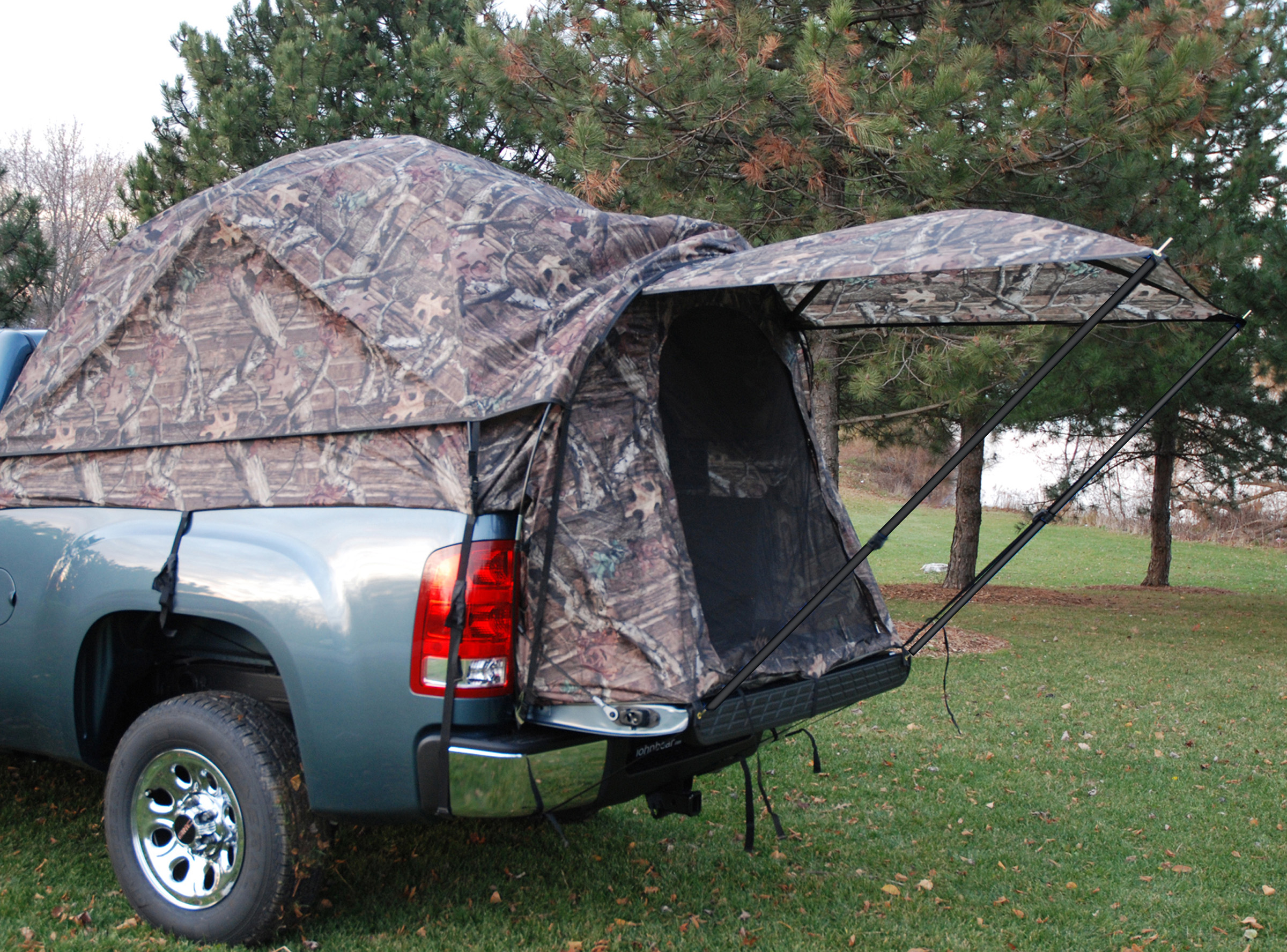 napier outdoors camp truck tent full size crew cab 5 5 ft. Black Bedroom Furniture Sets. Home Design Ideas