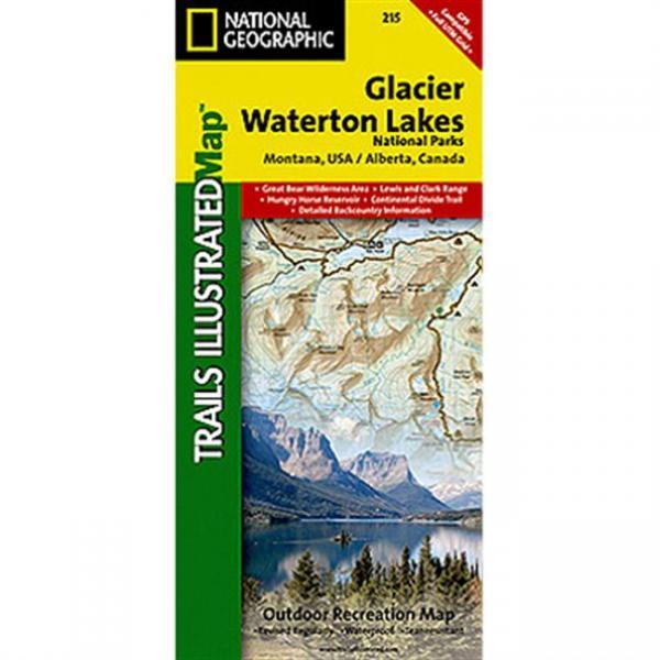 National Geographic Glacier Peak Wilderness #827