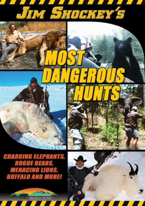 Stoney-Wolf Jim Shockey's Most Dangerous Hunts DVD