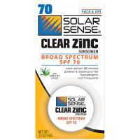 Solar Sense Clear Zinc Spf70 .5oz Jar