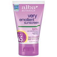 Alba Kids Sunscreen Spf45 4Oz.
