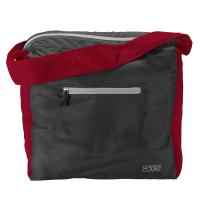 ElectroLight Tote Bag Red/Charcoal