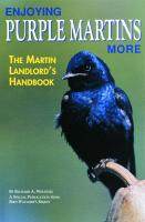 Bird Watcher's Digest Enjoying Purple Martins More