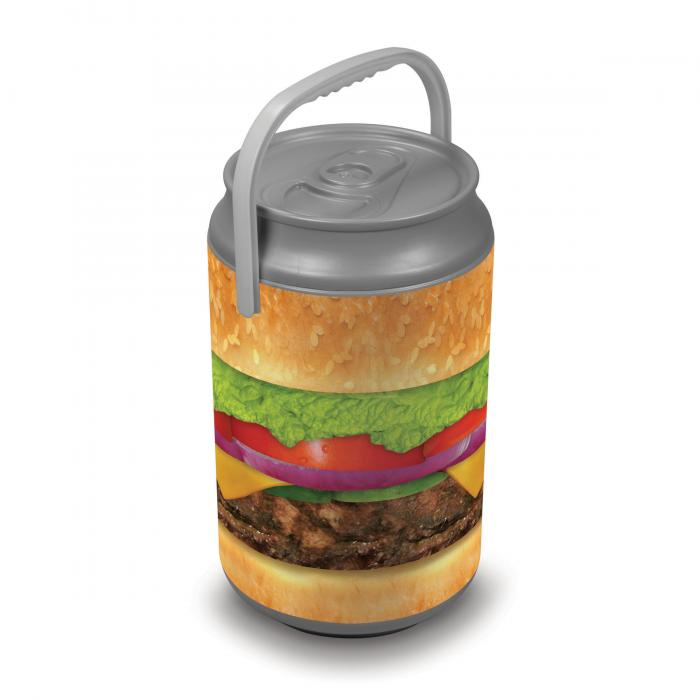 Picnic Time Extra Large Insulated Mega Can Cooler, Burger Can