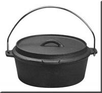 Preseasoned Cast Iron Camping Dutch Oven