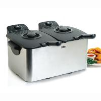 Elite 8Qt Dual Basket Deep Fryer