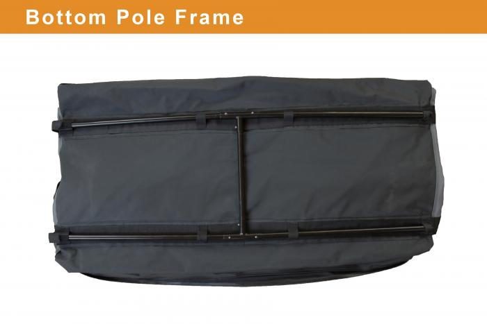 Rightline Gear 100b90 13 Cubic Foot Vehicle Cargo Saddlebag