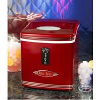 Nostalgia Electrics RIC-100 Retro Series Portable Ice Cube Maker