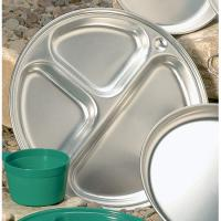 "Open Country 11 1/2"" Aluminum Compartment Plate"
