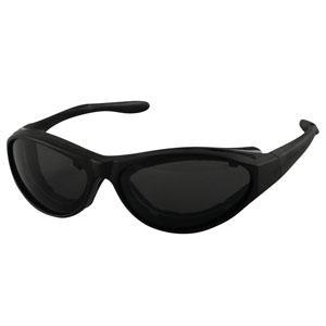 Bobster Action Eyewear Raptor II Convertible, Black Frame, 3 Lenses