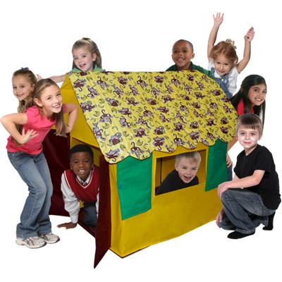 Bazoongi Kids Going Bananas Monkey Kids' Cottage
