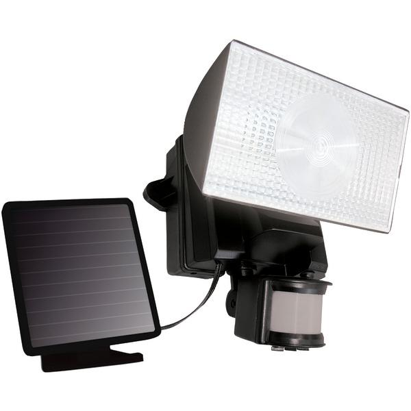 Maxsa Innovations 40223 Solar-Powered 50 LED Motion-Activated Outdoor Security Floodlight (Black)