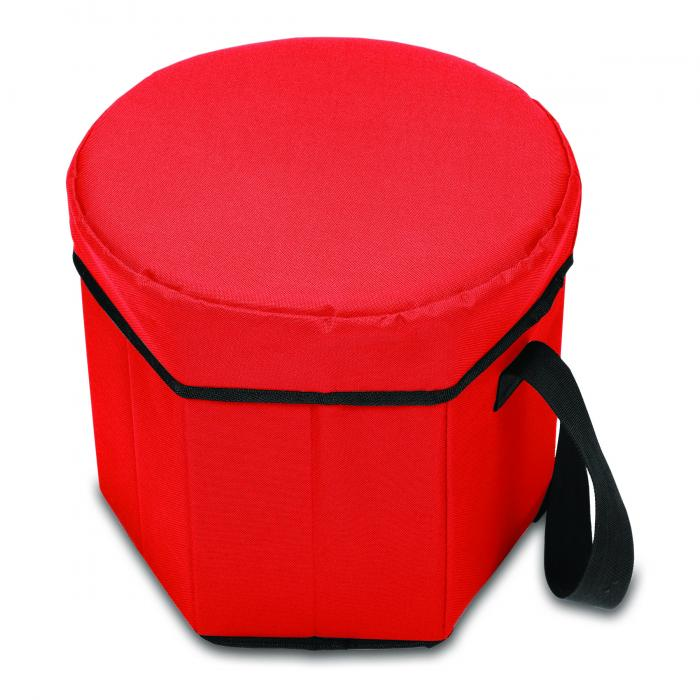 Picnic Time Bongo 12-Quart Collapsible Cooler , Red