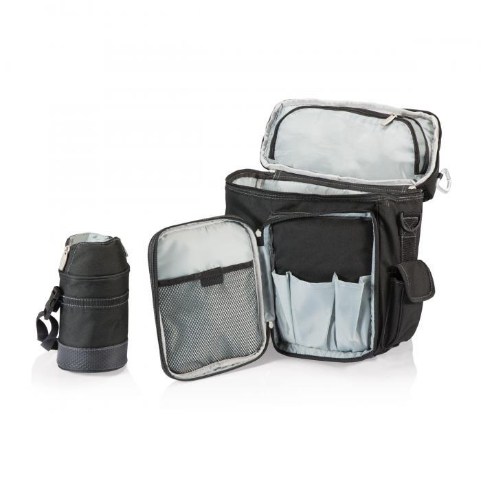 Picnic Time Turismo Backpack, Black