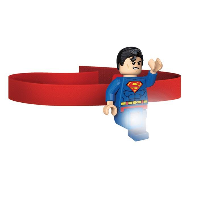 Lego Dc Superman Head Lamp