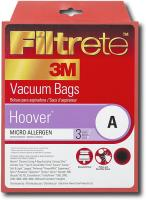Filtrete by 3M Hoover A Micro Allergen Vacuum Bags (Case of 18)