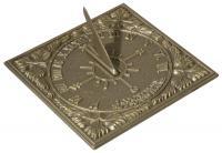 Sunny Hours Sundial - French Bronze
