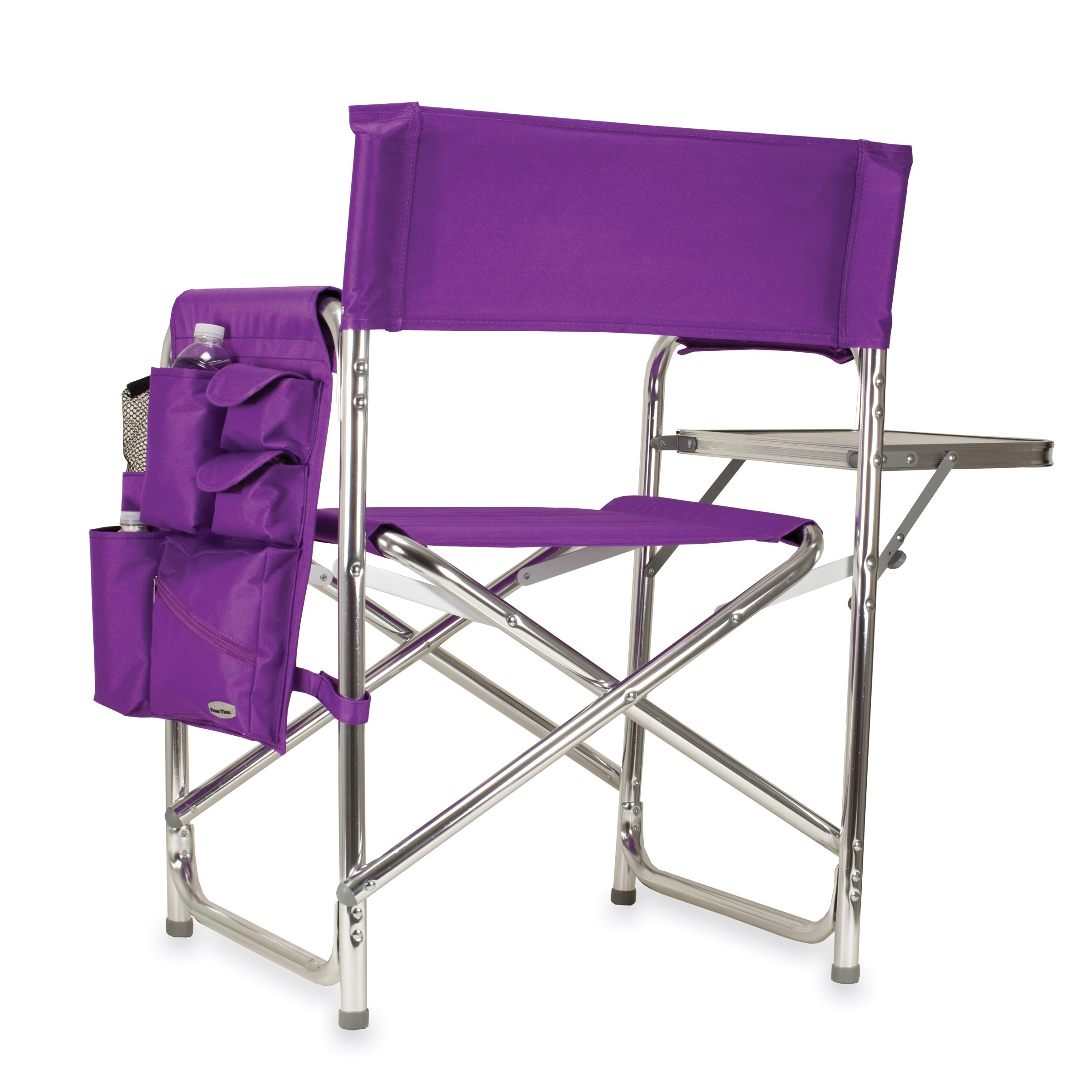 Time Purple Portable Folding Sports Camping Chair