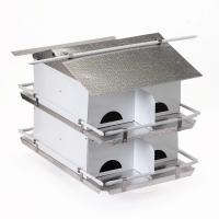 Bird's Choice Starling Resistant Entrance Holes 2 Floor/8 Room Pre Assembled