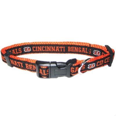 Cincinnati Bengals NFL Dog Collar - Small