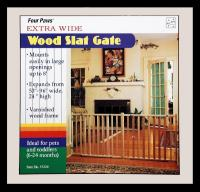 Gate Wood Vertical Slat