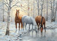 Outset Media Games Winter Trio 1000 piece Puzzle