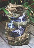 Design Toscano Glacier Peak Cascading Garden Fountain