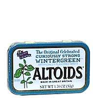 Altoids Wintergreen Altoids, 1.76 Ounce