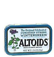 Altoids Wintergreen Altoids, 1.76 Ounce