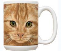 Fiddler's Elbow Orange Tabby 15 oz Mug