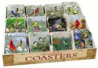 Counter Art Bird Assortment with Counter Display 72 Coasters