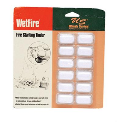 Ultimate Survival Wetfire Tinder Tubed (8 Cubes)