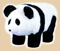 "Plush ""Chi Chi"" Bear Footstool"