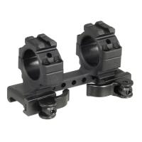 "UTG 1"" Med-pro QD Ring Mount,2 Top Slots"
